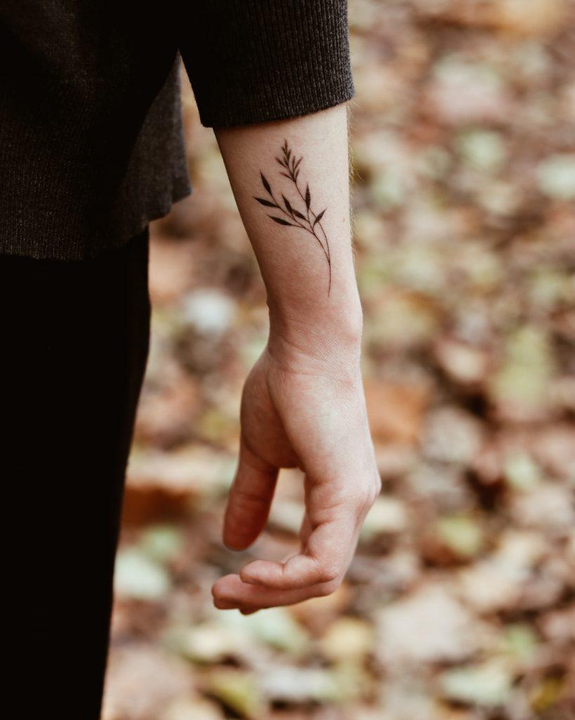 Tattoo am Unterarm