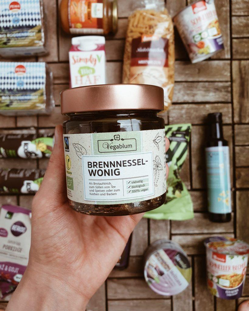 Wonig - vegane Alternative zu Honig