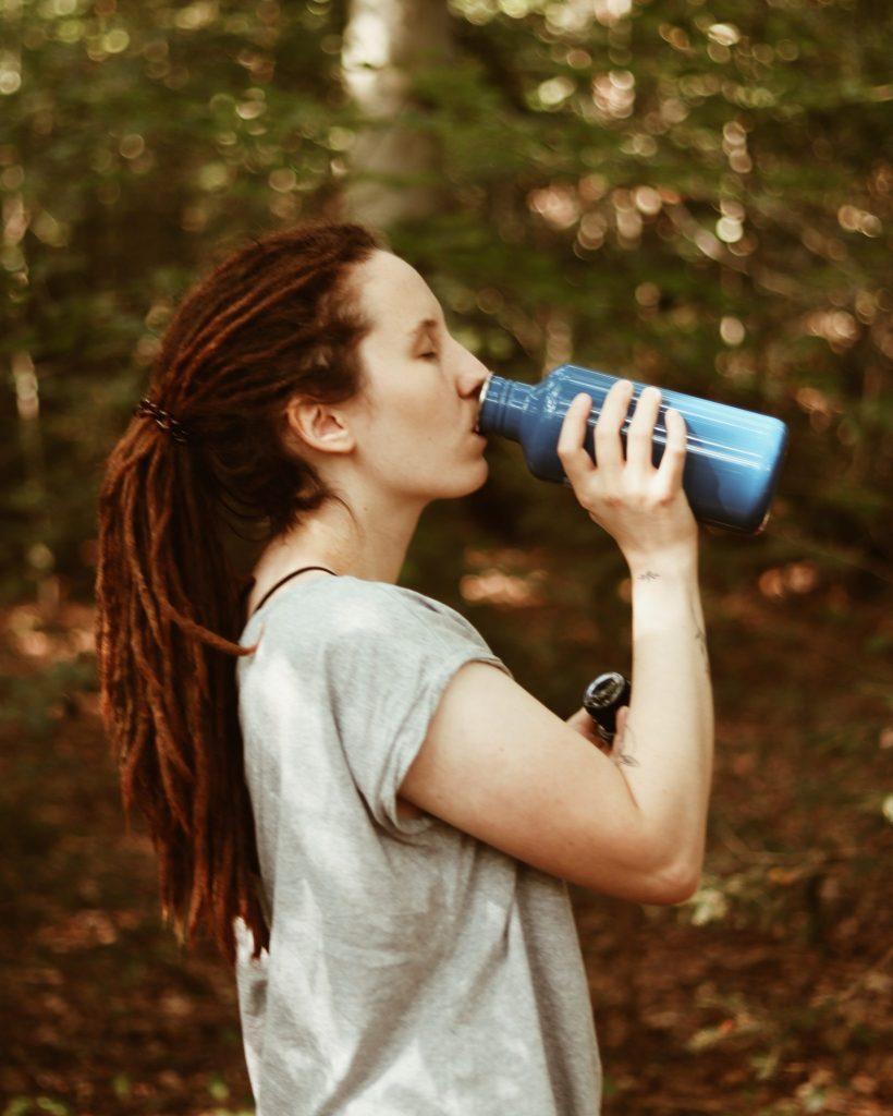 Nachhaltig mit einer Trinkflasche